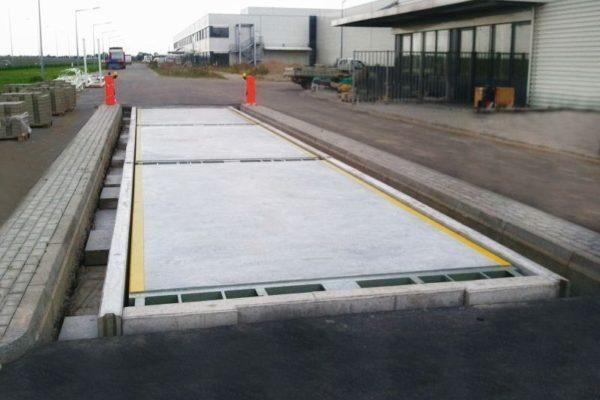 Elektroniczna betonowa waga samochodowa Rooster 60t