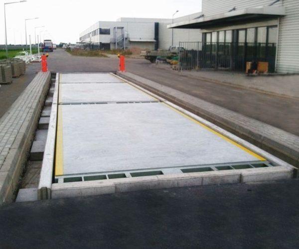 Elektroniczna betonowa waga samochodowa Strong