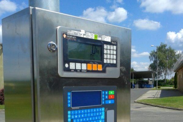 Automatyczna Bezobsługowa Waga Samochodowa