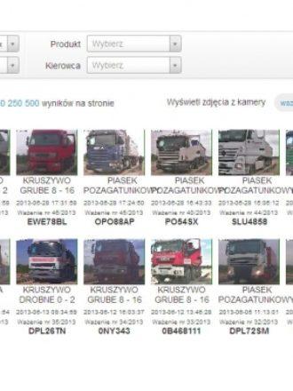 Waga Samochodowa z dostępem przez Internet