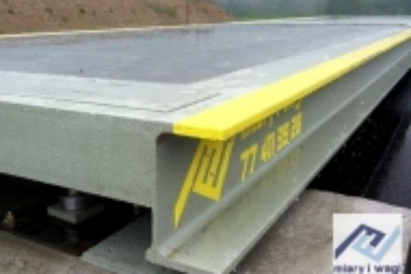 Najazdowa waga stalowo-betonowa STB 14m 60t