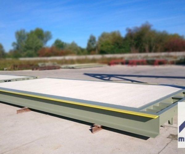 Najazdowa waga stalowo-betonowa Compact 14m 60t