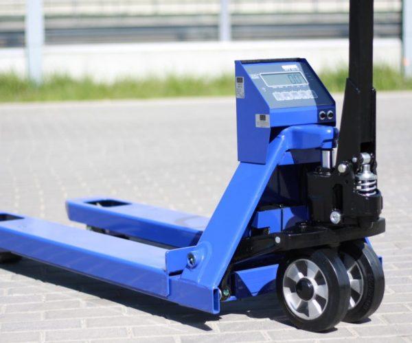 Wózek paletowy z wagą KPZ 71-9 2500kg